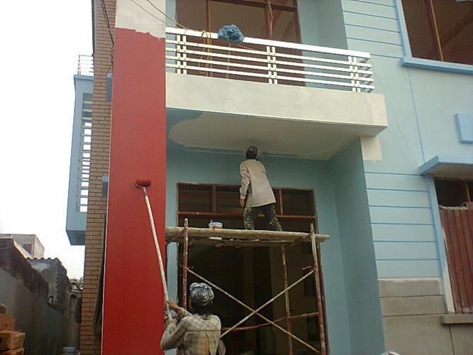Hợp đồng thuê thợ sơn nhà có dấu đỏ tại Hà Nội