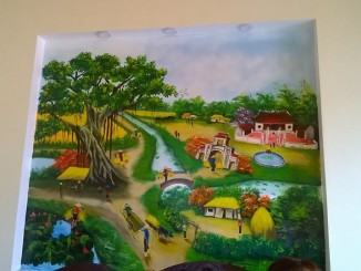 Thợ sơn nhà hà nội vẽ giả đá giả gỗ