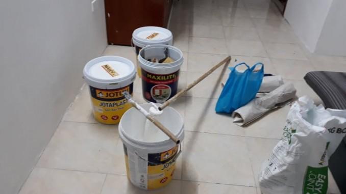 Muốn sơn lại nhà 300 m2 hết bao nhiêu tiền?
