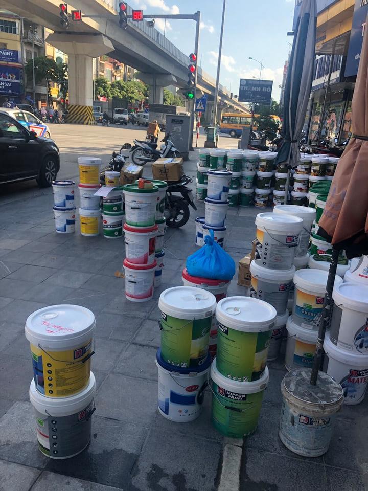 Thùng sơn 18 lít tại Hà Đông Hà Nội