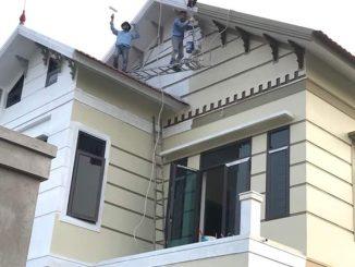 các câu hỏi liên quan đến sơn sửa nhà