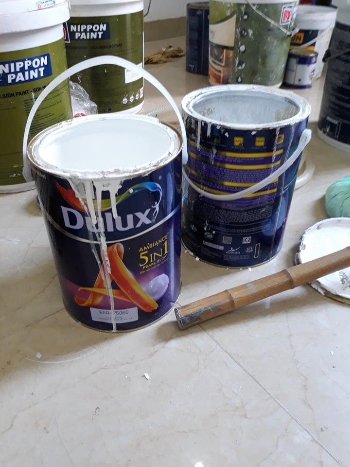 Thợ sơn nhà dân sơn dulux 5 in 1