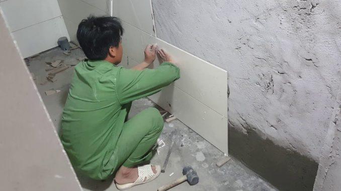 Thợ ốp lát tường, giá thợ ốp lát tường là bao nhiêu?