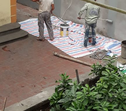 Thợ sơn nhà, thợ chống thấm Lê Thanh Nghị Hà Nội 0965.559.334